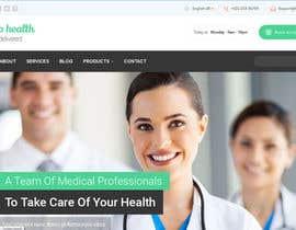 Nro 3 kilpailuun Design a WordPress Mockup for health site käyttäjältä princevenkat