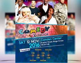 Mohamedsaa3d tarafından Comedy event Flyer design için no 7