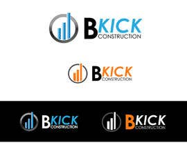 #71 cho Design a Logo for B Kick Construction bởi mridul140