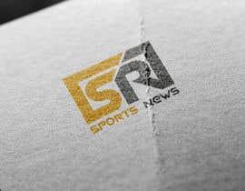 Nro 22 kilpailuun Sports News Logo käyttäjältä Srbenda88