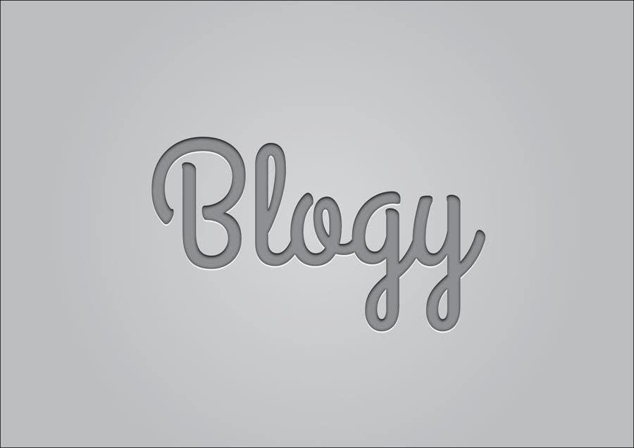 #22 for Blogy Logo Design by optimussdesign
