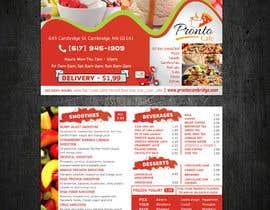 glazaropoulos tarafından Menu card design for Frozen yougurt, Ice Cream, Smoothies için no 4