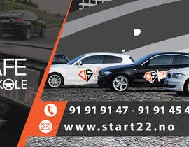 #72 for Designing a Banner for a driving school by MrDesi9n