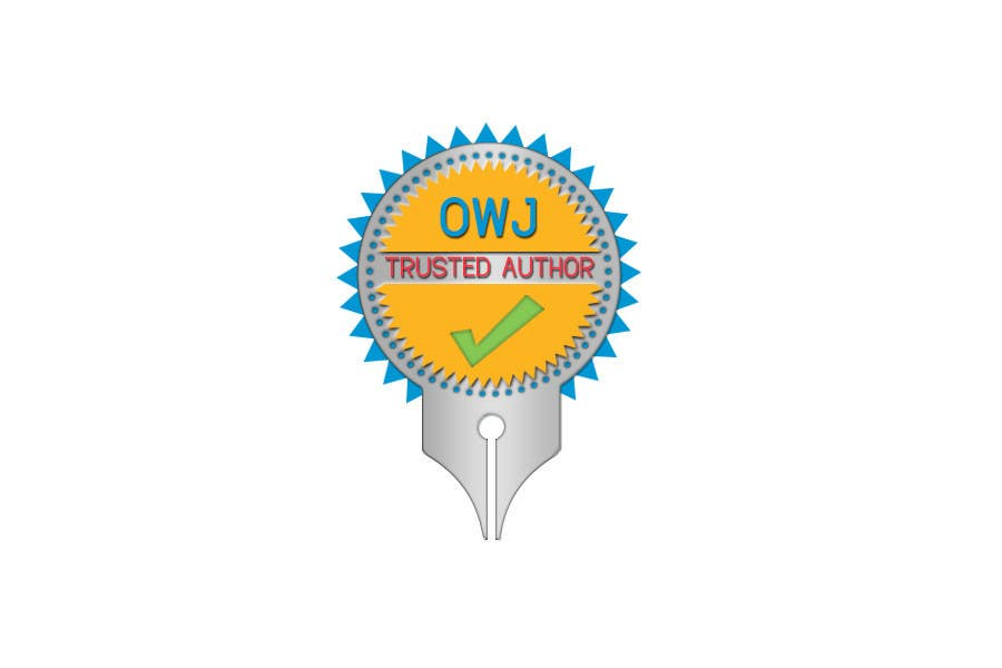 #42 for Design a Trusted Writer Badge by colourLIGHT