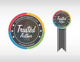 #31 para Design a Trusted Writer Badge por SpeedDreaming