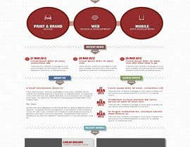 fo2shawy001 tarafından Design a Wordpress Mockup for a website için no 2