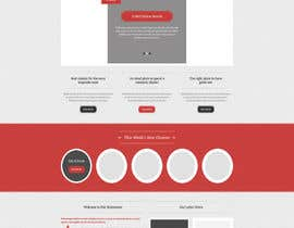 fo2shawy001 tarafından Design a Wordpress Mockup for a website için no 4