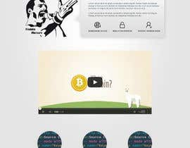 nº 6 pour Design a Website Mockup for Cryptocurrency Project par MiNdfr34k