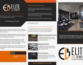 #19 for Design a Brochure for new private luxury residential & personal life company by prettyflyers