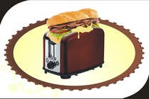 Contest Entry #12 for Design a sub stuffed into a toaster graphic