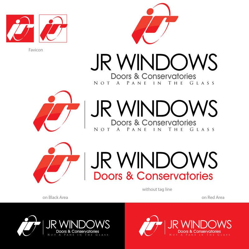 Design A Logo For Jr Windows Doors