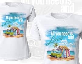 Nro 13 kilpailuun Design a Funky  Surf T-Shirt käyttäjältä Cheda
