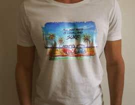 Nro 20 kilpailuun Design a Funky  Surf T-Shirt käyttäjältä bd600102