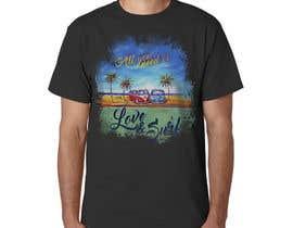 Nro 5 kilpailuun Design a Funky  Surf T-Shirt käyttäjältä jeffnelshabong