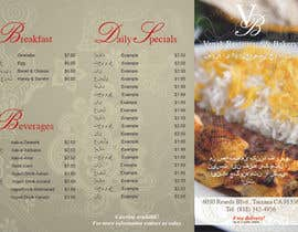#3 cho Design a Brochure for Persian Restaurant bởi veronicapires