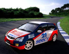 #14 untuk Illustrate Something for Rally Car Wrap oleh fridaytwins