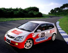 #15 untuk Illustrate Something for Rally Car Wrap oleh fridaytwins