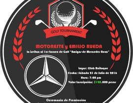 Nro 6 kilpailuun Design an Invitation to a golf tournament käyttäjältä ChowdhuryShaheb