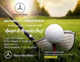 AmmarElramsisy tarafından Design an Invitation to a golf tournament için no 18