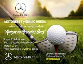 Nro 18 kilpailuun Design an Invitation to a golf tournament käyttäjältä AmmarElramsisy
