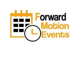 yanatodorova1 tarafından logo designed for Forward Motion Events için no 3