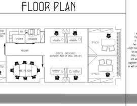 zoranaelek tarafından Office floor plan and furniture layout için no 13