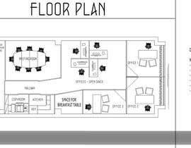 zoranaelek tarafından Office floor plan and furniture layout için no 23