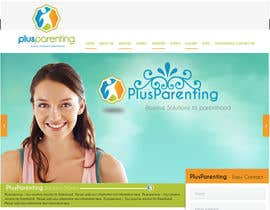 sweetys1 tarafından Design a Website Mockup for a Parenting Coach and Speaker için no 3