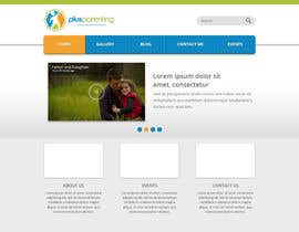 alexisbigcas11 tarafından Design a Website Mockup for a Parenting Coach and Speaker için no 1