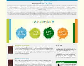 infoYesDesign tarafından Design a Website Mockup for a Parenting Coach and Speaker için no 8