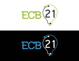 #35 for Ontwerp a Logo for ecb21 - repost af Asifrbraj