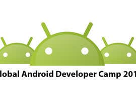 nº 44 pour Design a Logo for Global Android Developer Camp 2014 par alpzgven