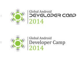 #22 untuk Design a Logo for Global Android Developer Camp 2014 oleh enshano