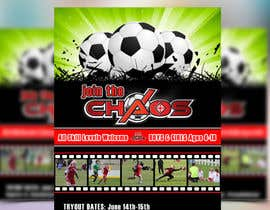 #32 para Design an Flyer for Soccer Tryouts / Sign ups REVISED - repost por maq123
