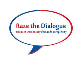 nº 19 pour Design a Logo for Raze the Dialogue par Qoutmosh