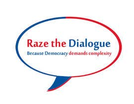 nº 35 pour Design a Logo for Raze the Dialogue par Qoutmosh