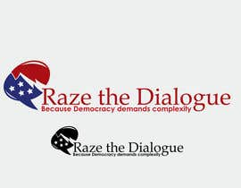 nº 45 pour Design a Logo for Raze the Dialogue par jhonlenong