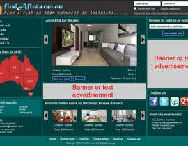 mahidulhaq tarafından Graphic Design for The business is called 'FindAFlat.com.au' için no 18
