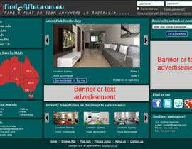 #22 for Graphic Design for The business is called 'FindAFlat.com.au' af mahidulhaq