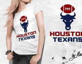 Nro 8 kilpailuun I need a Houston Texans logo designed. käyttäjältä Naumovski