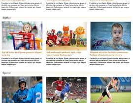 Nro 7 kilpailuun Design a Website Mockup for News Site käyttäjältä zinvs