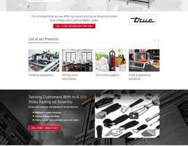 Nro 2 kilpailuun Design a Website Mockup for Restaurant Equipment Site käyttäjältä princevenkat