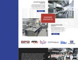 Elechu tarafından Design a Website Mockup for Restaurant Equipment Site için no 26
