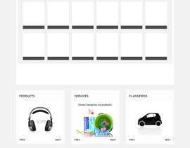 itsols tarafından home landing page svg png design website UX UI designer için no 27