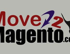 lovingbyu tarafından Design a Logo for Move2Magento and MovetoMagento için no 48