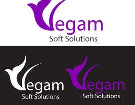 #44 para Design a Logo for Vegam Soft Solutions por arkwebsolutions