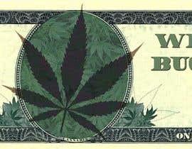 Nro 10 kilpailuun Marijuana Currency Fake Bill käyttäjältä eduardosaraujo