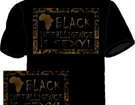 nº 50 pour Design a T-Shirt for African Intelligence par mekalan