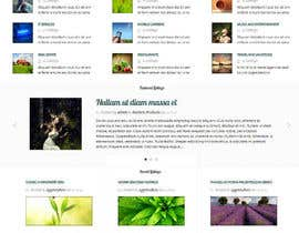 #8 para Online Discussion Forum Index Page Theme Design por Mizanurahman1