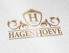 "ahmad111951 tarafından Design of a logo for a horse riding school called ""Hagenhoeve"" için no 46"